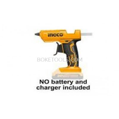 (AVAILABLE IN PIONEER BRANCH) INGCO CGGLI2001 Lithium-Ion Glue Gun