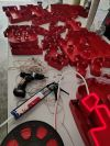 Led neon signage with 3d box up lettering Neon Light Signage