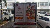 Lorry cold box full wrapping Truck Lorry Sticker