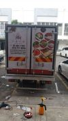 Lorry cold box full wrapping Truck & Car Sticker Printing Sticker Printing