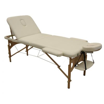 Portable Massage Bed Oak Wood