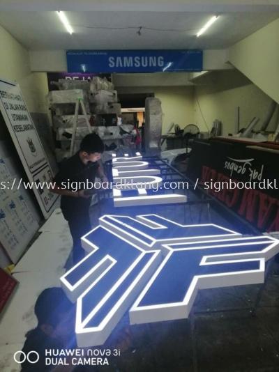 future pub we 3D LED eg conceal box up lettering signage signboard at damansara petaling jaya Kuala Lumpur