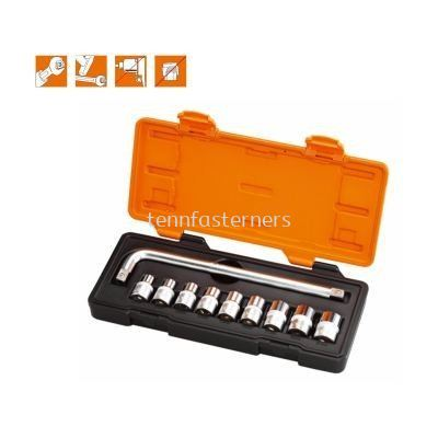 MK-SET-4610M 10PCS MR.MARK SOCKET SET (6 POINT)