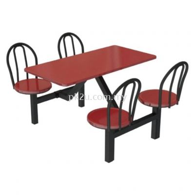 FRP-B2-4 - 4 Canteen Table Seater Set