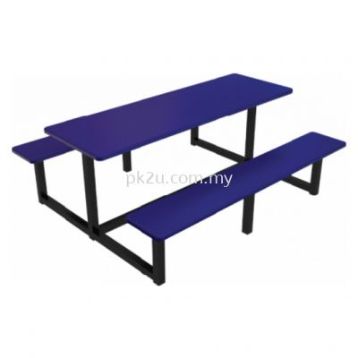 FRP-C6S-6 - 6 Canteen Table Seater Set