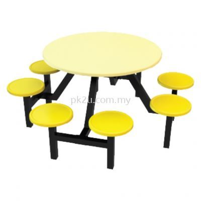 FRP-C9-8 - 8 Canteen Table Seater Set