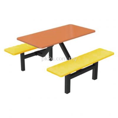 FRP-B3-4 - 4 Canteen Table Seater Set