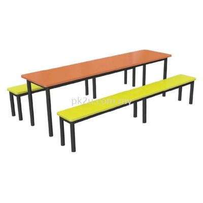 FRP-D4-8 - 8 Canteen Table Seater Set
