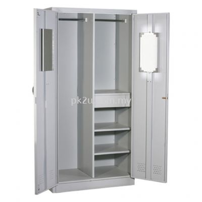 MFHW-2 - Double Swing Door Full Height Wardrobe