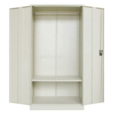 MFHW-5 - Double Swing Door Full Height Wardrobe