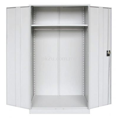 MFHW-4 - Double Swing Door Full Height Wardrobe
