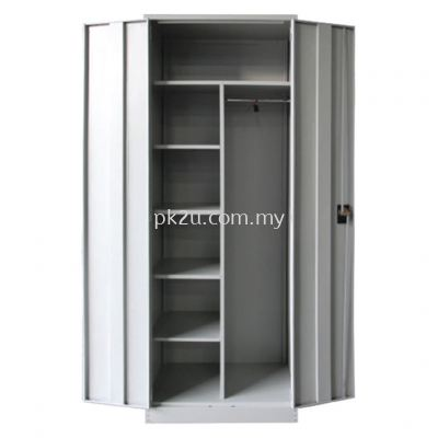 MFHW-6 - Double Swing Door Full Height Wardrobe