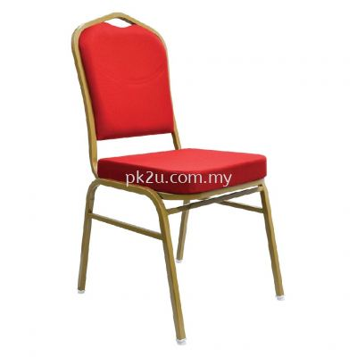 BQC-005-EG-L1 - Banquet Chair (Epoxy Gold)