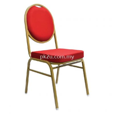 BQC-006-EG-L1 - Banquet Chair (Epoxy Gold)