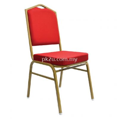 BQC-007-EG-L1 - Banquet Chair (Epoxy Gold)
