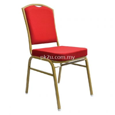 BQC-008-EG-L1 - Banquet Chair (Epoxy Gold)