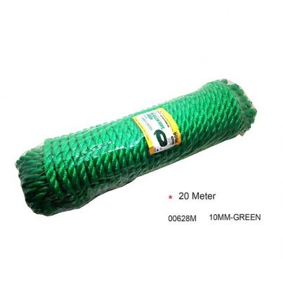 10MM X20M PE NYLON ROPE (GREEN)-00628M