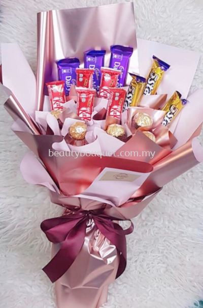 CS 011 Choco & Snack Bouquet