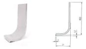 T018 ALUMINIUM PROFILE HANDLE Aluminium Profile Handle Aluminium Extrusion