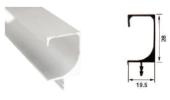 T3557 28MM ALUMINIUM PROFILE HANDLE Aluminium Profile Handle Aluminium Extrusion