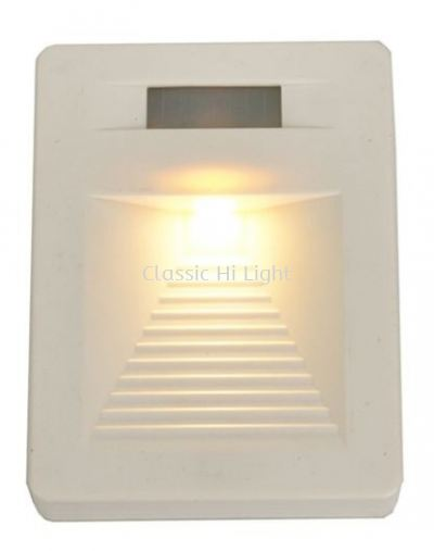 W 01226 WH STEP LIGHT