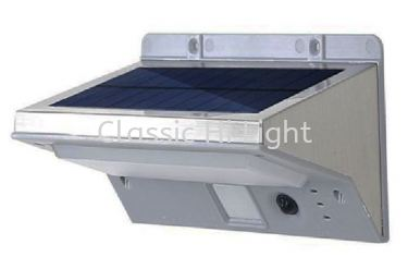 W 8090 SO SOLAR WALL LIGHT