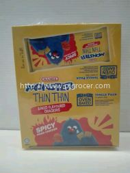 Mamee Monster Thin Thin Spicy (22gm x12pkt)