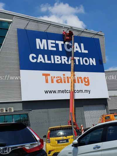 metcal calibration giant billboard at Kota kemuning shah alam