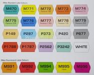 METO Standard Label Colour