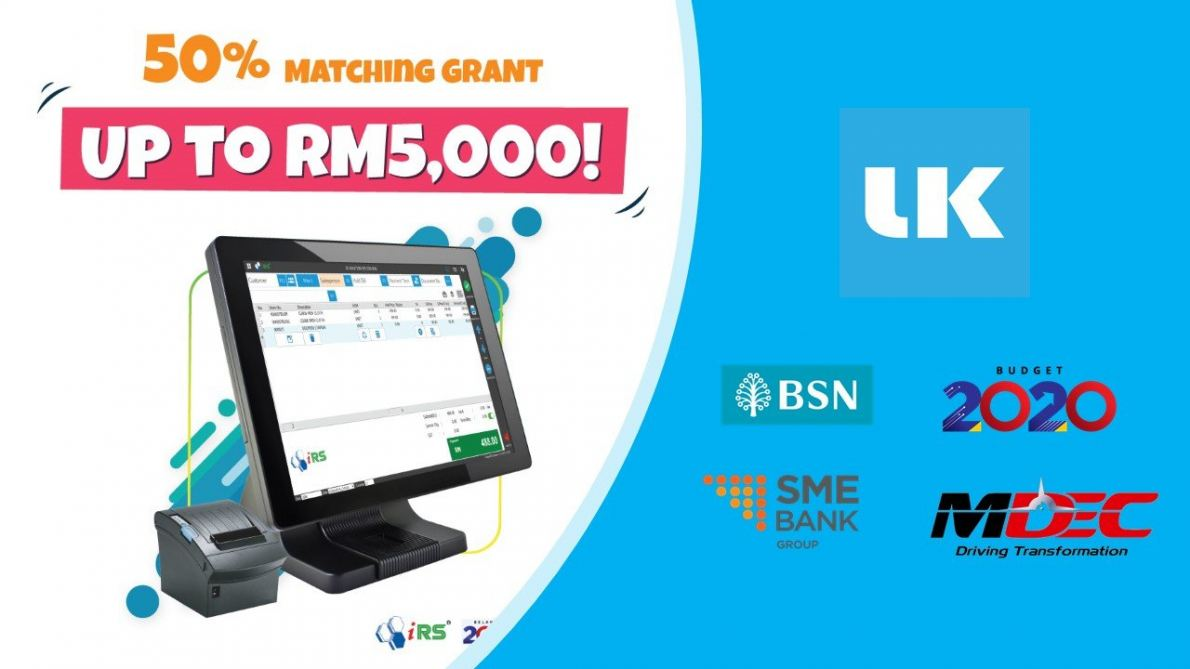 SME Matching Grant Up to RM5,000