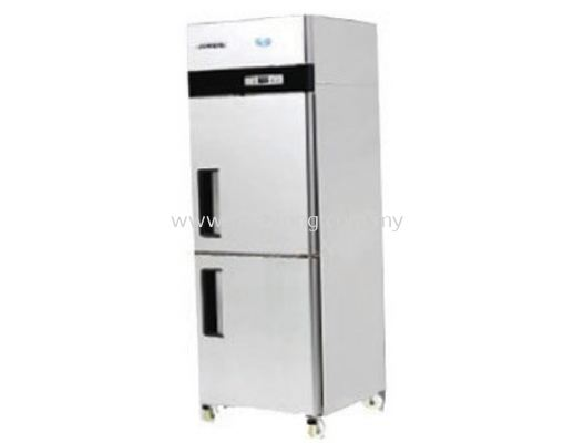 2 Door Upright Fridge