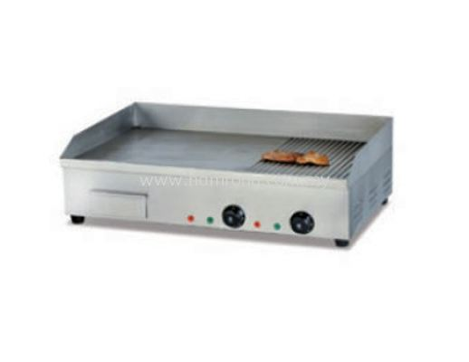 D42 Electric Griddle (Half Flat & Half Grooved)