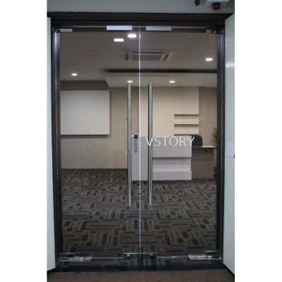 FRAMELESS 12MM TEMPERED GLASS DOOR(SAMPLE)