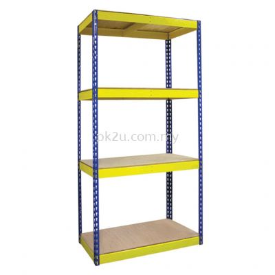 Light Duty Boltless Racking - 8mm HDF Board