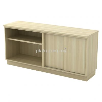 SC-YOS-7180 - Open Shelf + Sliding Door