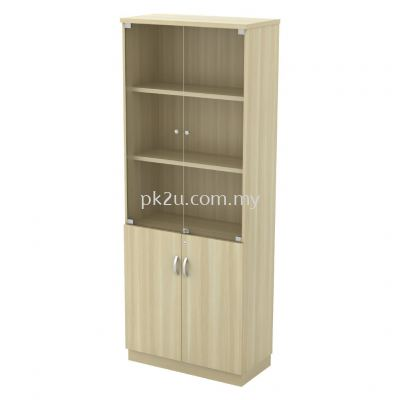 V1-SC-YGD-21 - Swinging Glass Door High Cabinet (2110mm Height)