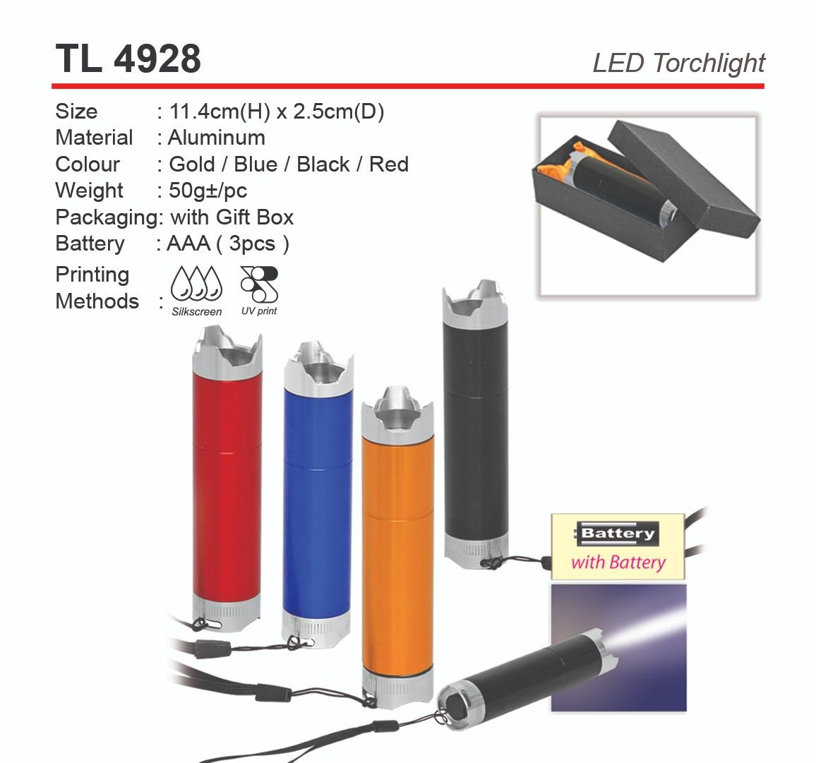 TL4928  LED Torchlight