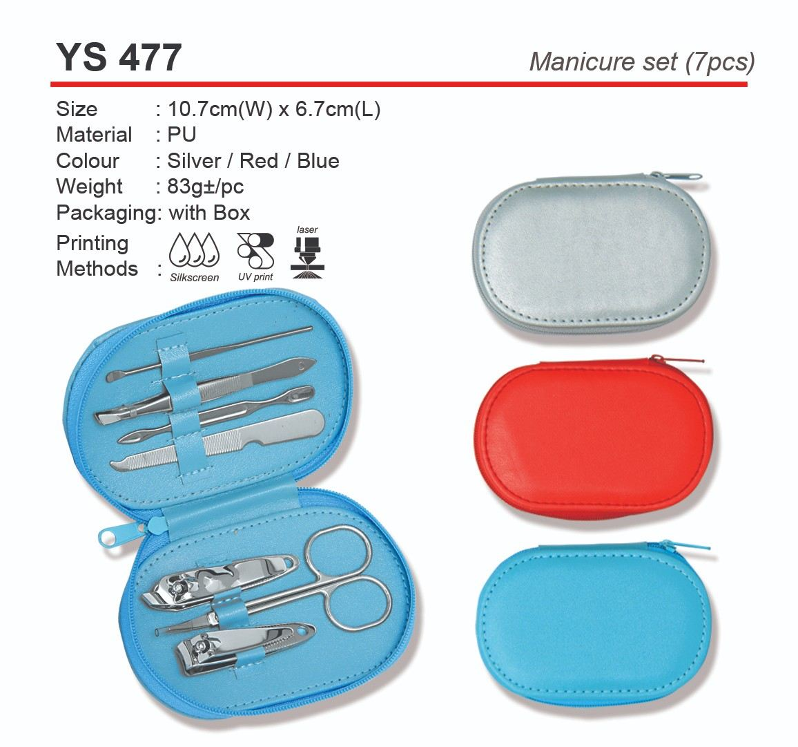 YS477  Manicure Set (7pcs)