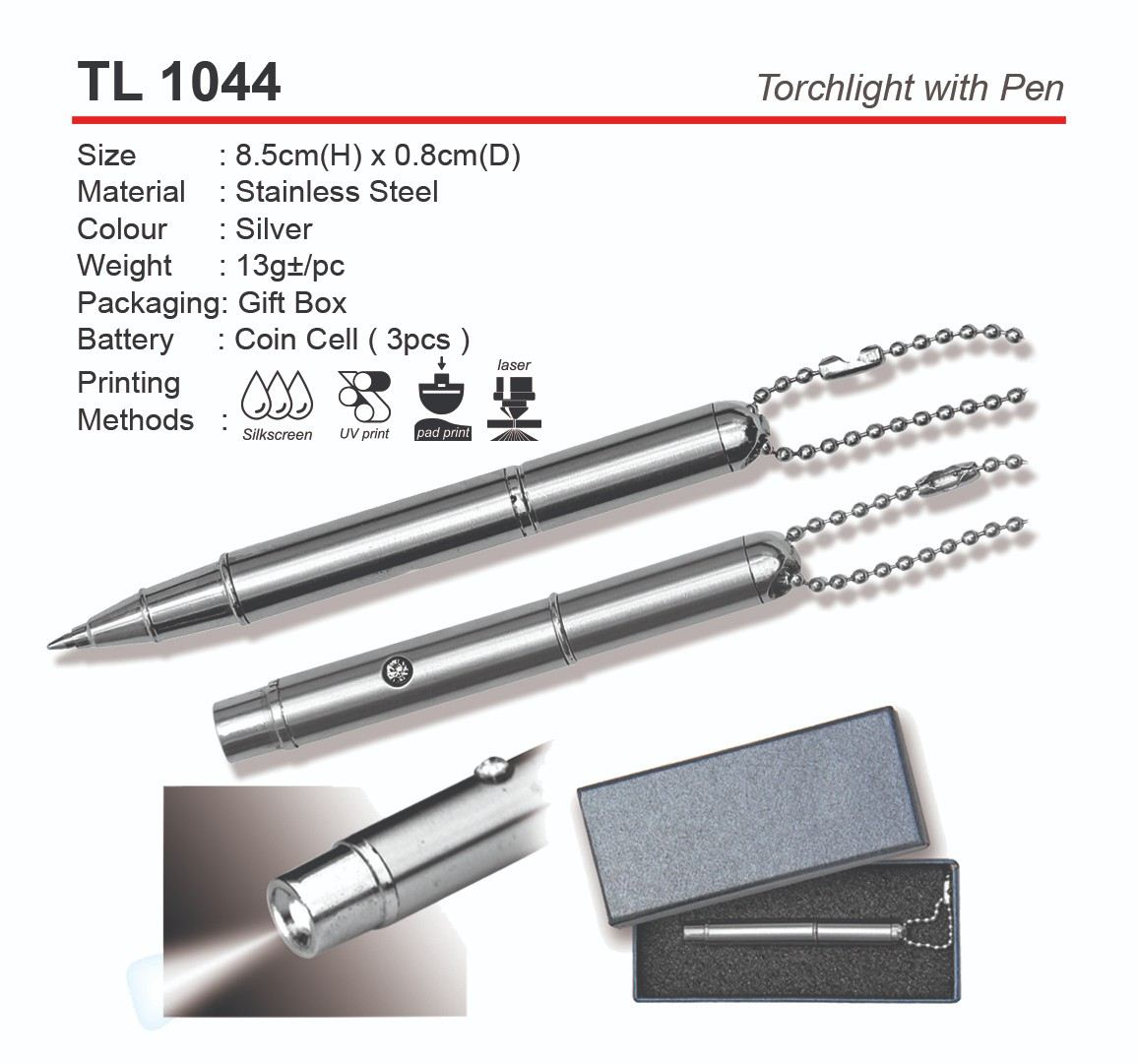 TL1044 Torchlight with Pen