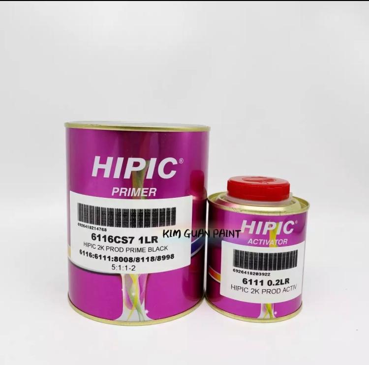 6116 Primer Hipic HS Super 2K 4-1 Clear