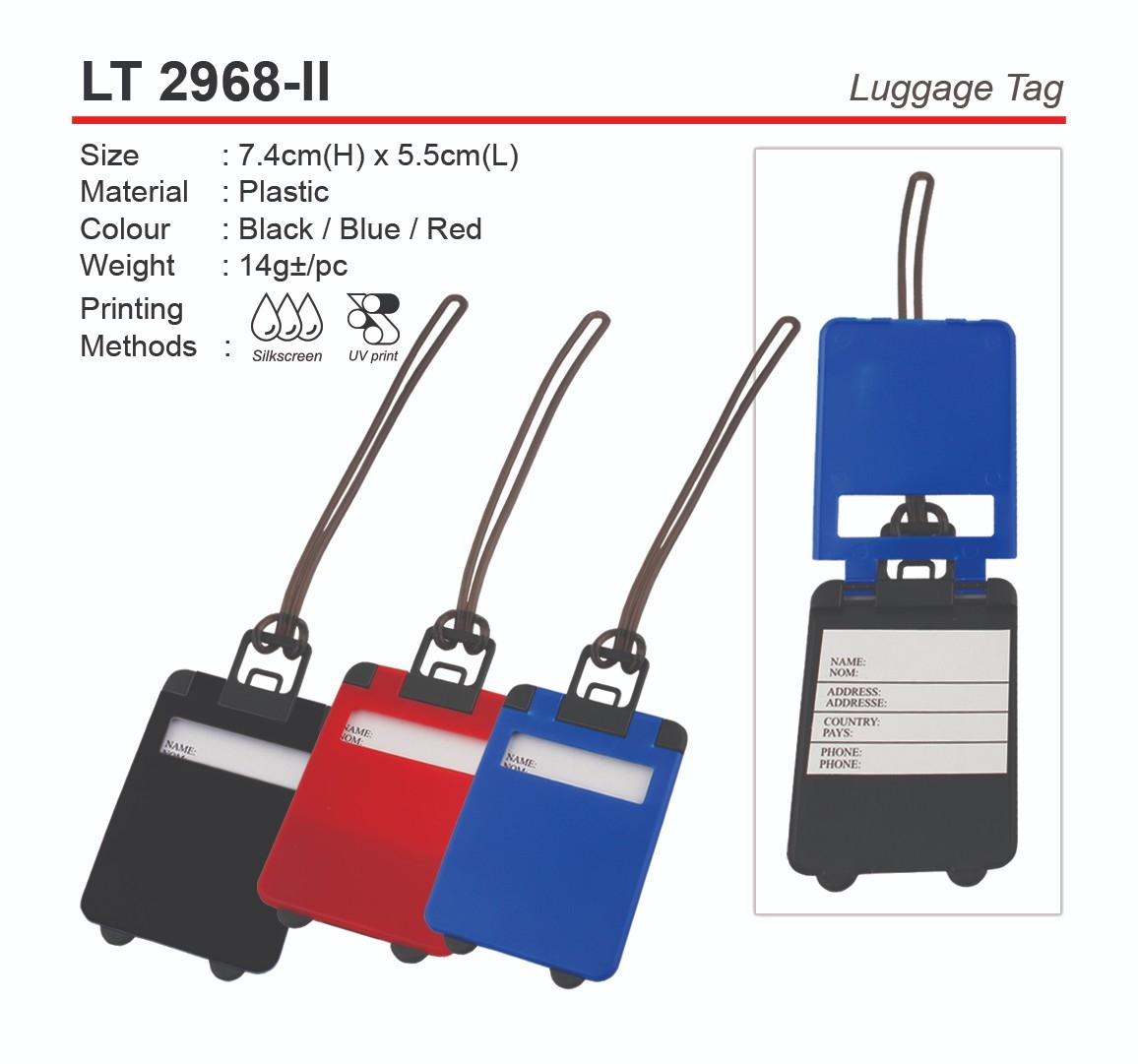 LT2968-II  Luggage Tag