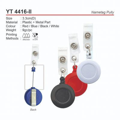 YT4416-II  Nametag Pully