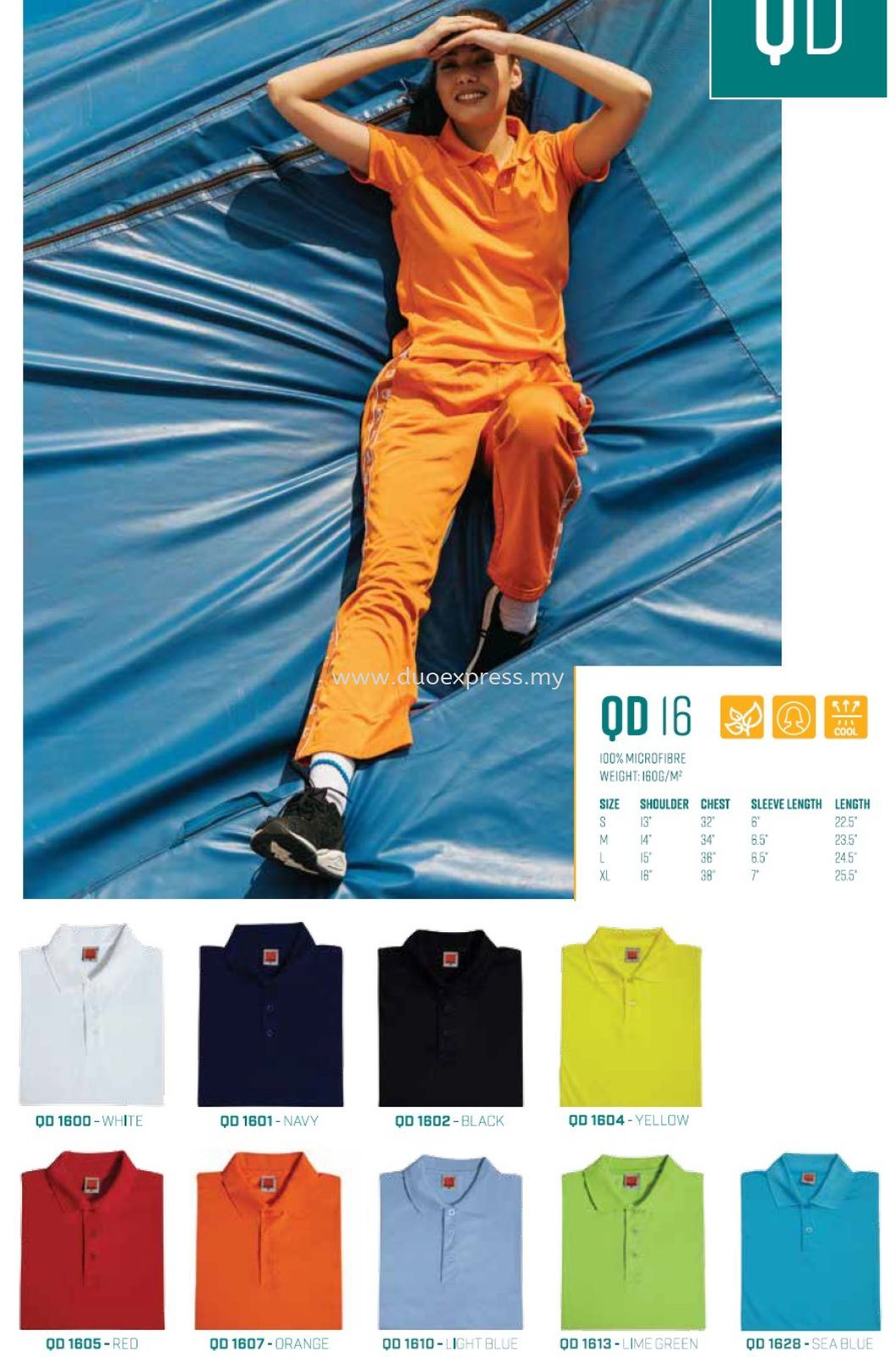 Polo T Shirt - QuickDry