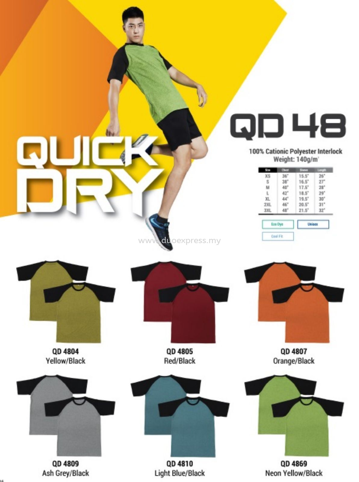 Roundneck QuickDry T Shirt