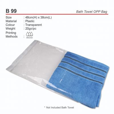 B99  Bath Towel OPP Bag