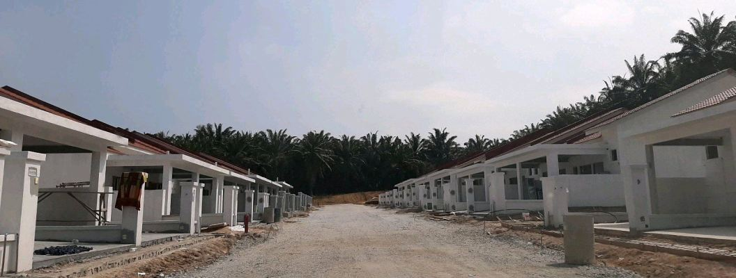 Project Painting Works:Single Story House At Lukut