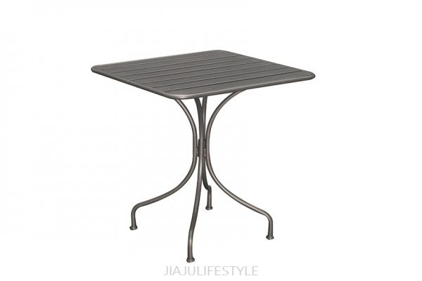 Outdoor Steel Table - Cool Grey