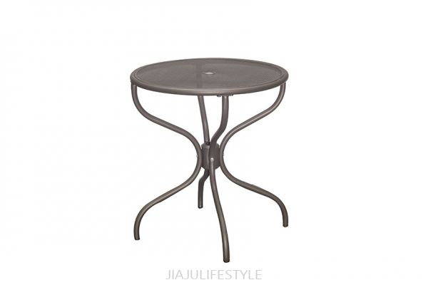 Outdoor Steel Table - Sandy Coffee