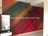 Outdoor & Indoor Wall Paper PVC Sticker Deco and Installtion