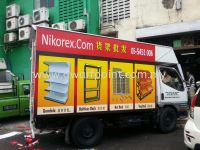 Truck Side Inkjet Sticker Paste